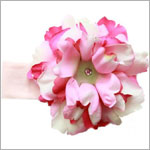 Z: Pale Pink w/ Power of Pink Peony Headband