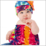Z: Rainbow Tie Dye Pipette & Hat Set