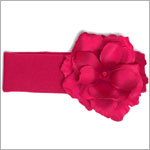 Z: Raspberry Rose Headband