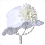 Z: White Daisy Sun Hat *Many Daisy Colors!*