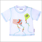 Bobby Mack *TURTLE BAY* White Kite Tee