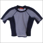 Kate Mack *GOODSHIP LOLLYPOP* Navy Surf Shirt