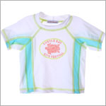 Bobby Mack *TURTLE BAY* White Surf Shirt