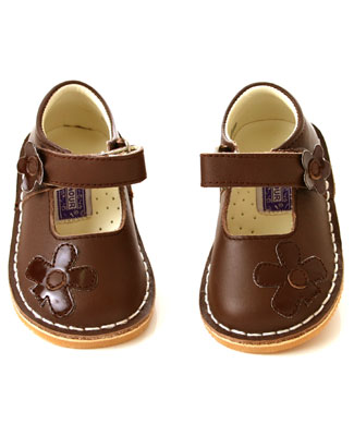 L Amour Shoes Brown Mary Janes
