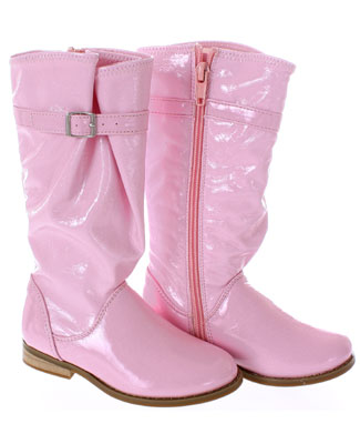 68370970b04 FS: L'Amour Tall Pink Patent Boot w/ Buckle