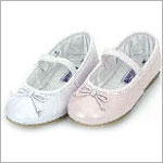 Z: L'Amour WHITE Ballet Style Flat Shoes