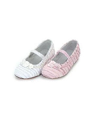z l amour white satin flat shoes w roses