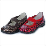 Z: L'Amour RED Cheetah Mary Jane Shoes