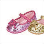 Z: L'Amour FUCHSIA Large Bow Glitter Shoes