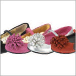 Z: L'Amour SILVER Ribbon Pom Pom Shoes