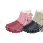 Z: L'Amour PINK Baby Moccasin Style Boots with Buckle