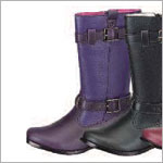 Z: L'Amour PURPLE Side Buckle Boots