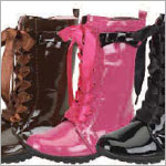 Z: L'Amour FUCHSIA Patent Boots *BESTSELLER*
