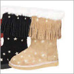 Z: L'Amour TAN Star Fringe Boots