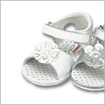 Z: L'Amour WHITE Flower Sandal