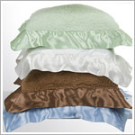 Z: Little Giraffe Chenille Satin Pillow *More Colors!*