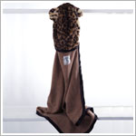 Z: Little Giraffe Luxe Leopard Towel