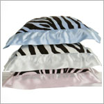Z: Little Giraffe Luxe Safari Zebra Pillow *More Colors!*