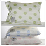 Z: Little Giraffe Satin NEW Dot Nap Pillow *More Colors!*