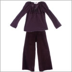 Luna Luna La Dolce Vita Purple Bella Blouse and Olga Pant Set