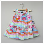 Mack & Co *Peace & Love* Dress With Flowers