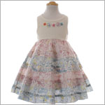 Mimi & Maggie Scattering Petals Dress