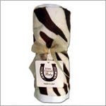 Z: Max Daniel *CHOCOLATE/IVORY ZEBRA* Burp Cloth