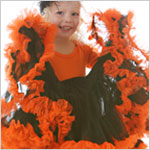 II: *BLACK/ORANGE* Pettiskirt