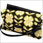 Z: Petunia Pickle Bottom Glazed Change-It-Up Clutch - Lively La Paz