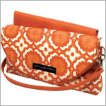 Z: Petunia Pickle Bottom Glazed Change-It-Up Clutch - Relaxing in Rio
