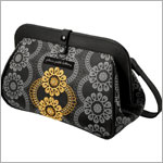 Z: Petunia Pickle Bottom *Glazed* Cross Town Clutch - Evening in Innsbruck