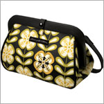 Z: Petunia Pickle Bottom *Glazed* Cross Town Clutch - Lively La Paz