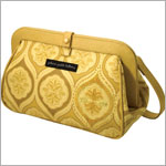 Z: Petunia Pickle Bottom Cross Town Clutch - Sunshine in Sardinia