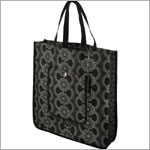 Z: Petunia Pickle Bottom Reusable Shopper Tote - Evening in Innsbruck