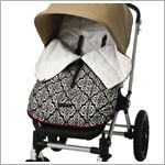 Z: Petunia Pickle Bottom *Glazed* Stroller Bunting Bag - Frolicking in Fez