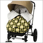 Z: Petunia Pickle Bottom *Glazed* Stroller Bunting Bag - Lively La Paz