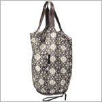 Z: Petunia Pickle Bottom Faraway Fold-Out Tote - Misted Marseille