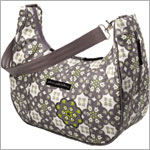 Z: Petunia Pickle Bottom *Glazed* Touring Tote - Misted Marseille