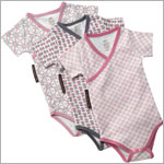 Z: Petunia Pickle Bottom Bodysuits - Girls Three Pack *New Style!*