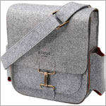 Z: Petunia Pickle Bottom Journey Pack - Heathered Grey
