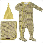 Z: Petunia Pickle Bottom Snuggle Set - BOYS Retro Tile