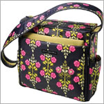 Z: Petunia Pickle Bottom *Glazed* Shoulder Diaper Bag - Siesta in Sevilla
