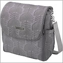 Z: Petunia Pickle Bottom *Embossed* Boxy Backpack - Champs-Elsees Stop *Grey*