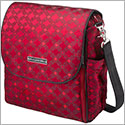 Z: Petunia Pickle Bottom *Brocade* Boxy Backpack - Spiced Crimson
