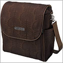 Z: Petunia Pickle Bottom *Embossed* Boxy Backpack - Hotel de Ville Stop *Brown*