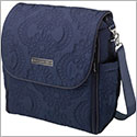 Z: Petunia Pickle Bottom *Embossed* Boxy Backpack - Waterloo Stop *Blue*