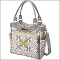 Petunia Pickle Bottom Glazed City Carryall - Breakfast in Berkshire