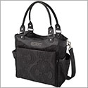 Petunia Pickle Bottom Embossed City Carryall - Central Park North Stop