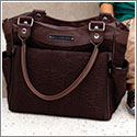 Petunia Pickle Bottom Embossed City Carryall - Hotel de Ville Stop