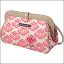 Petunia Pickle Bottom Glazed Cross Town Clutch - Flowering Firenze